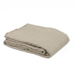 Bedspread DUBLIN-270X270-GEOMETRIC NATURAL