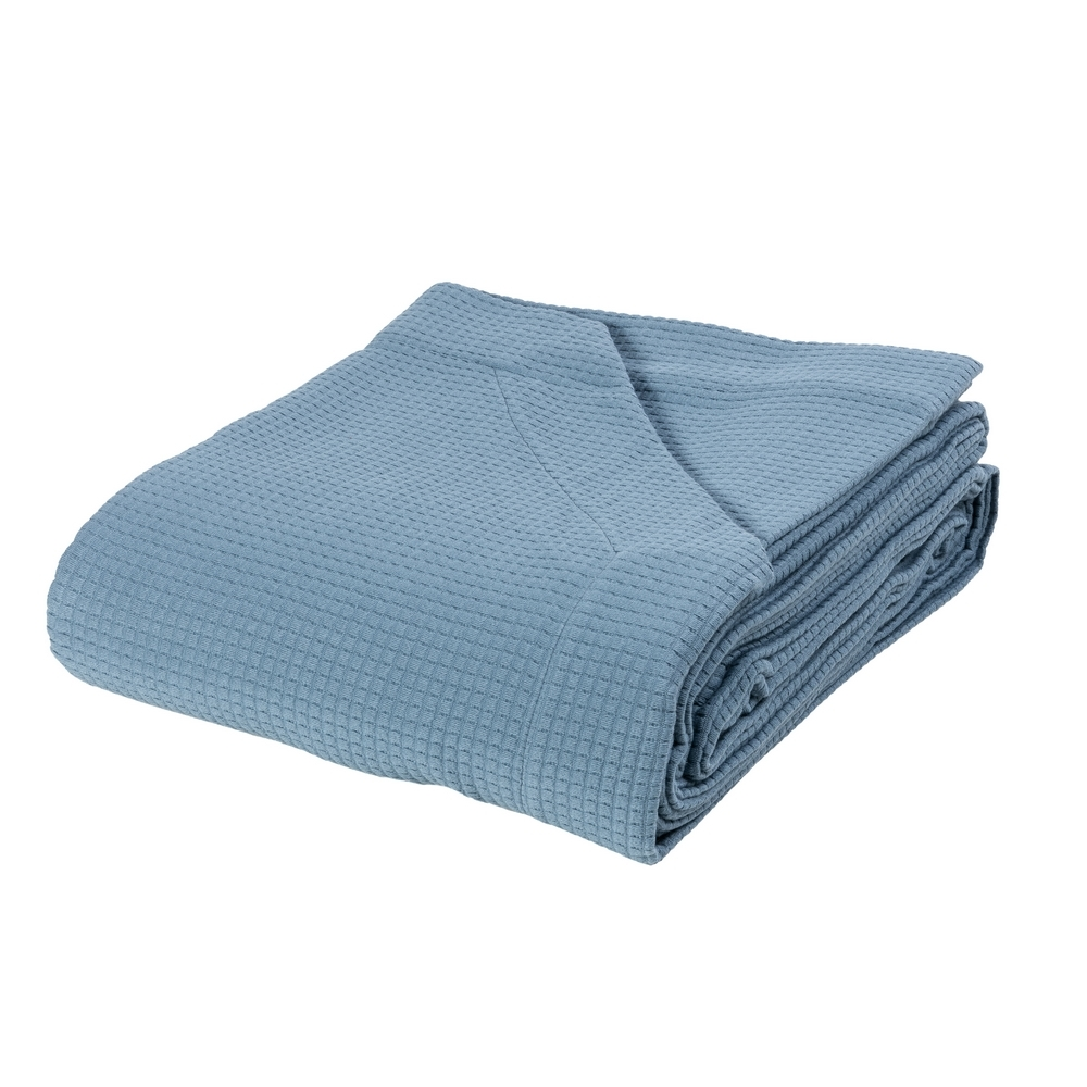 MAY Bedspread-IT QUEEN-BLUE