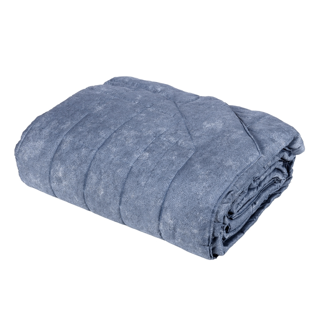 GALUCHAT Quilted bedspread - IT SINGLE - blue