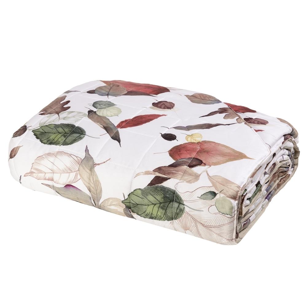 NEL PARCO Quilted bedspread-IT QUEEN-BEIGE