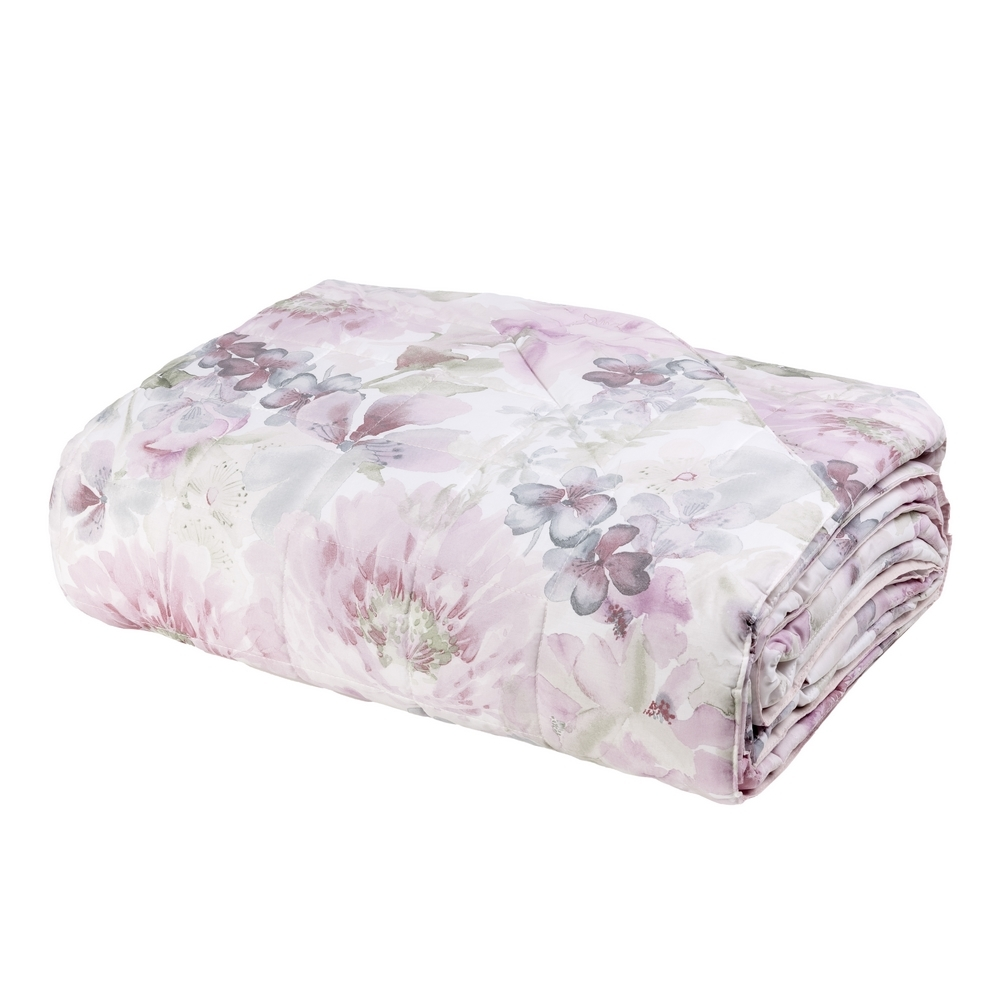 ACQUERELLO Quilted bedspread-IT QUEEN-PINK