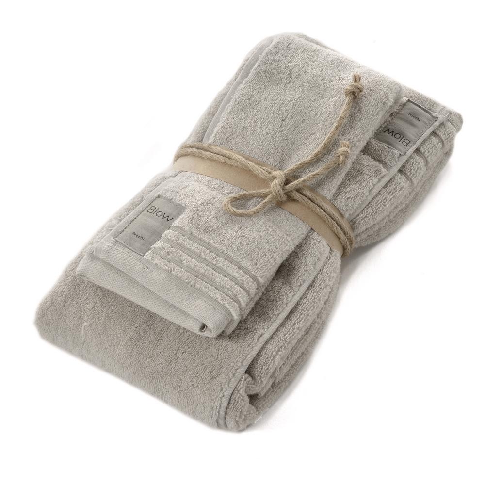COCCOLA set of 2 towel-unica-GREY