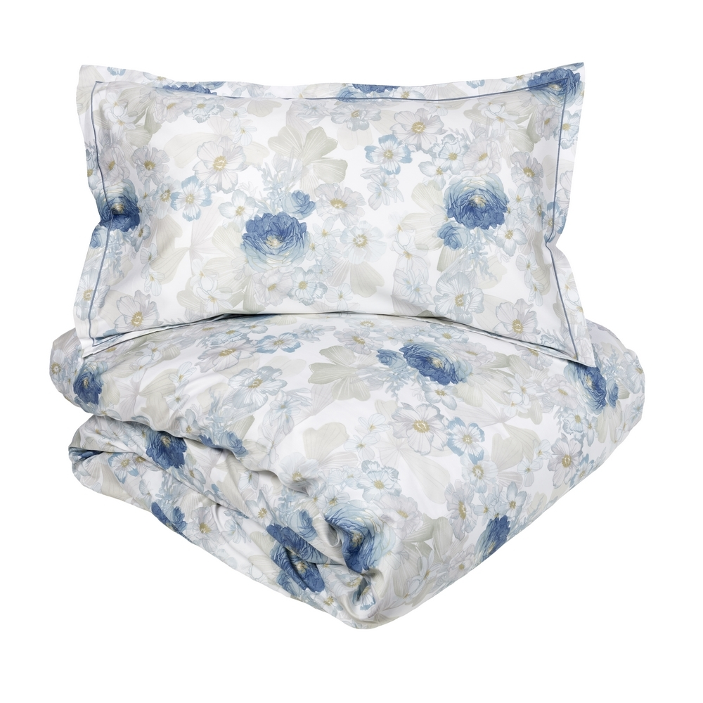 ALLURE Duvet cover set-IT QUEEN- Blue