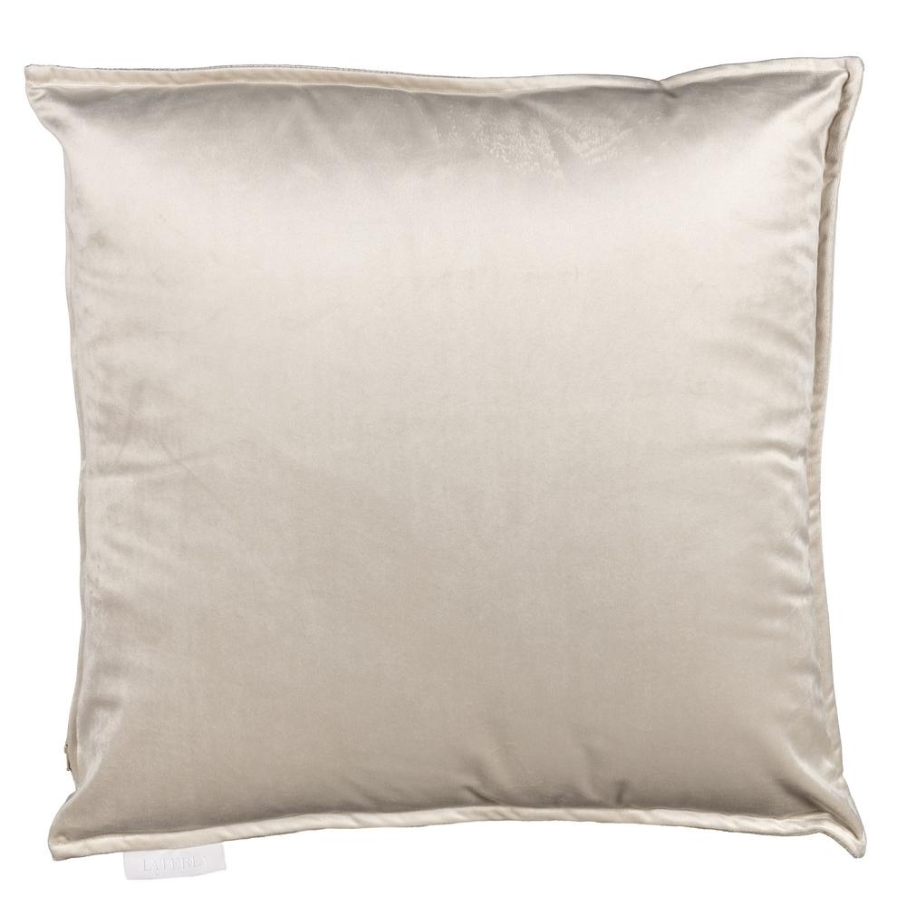 VELLUTO Cushion -50x50 -NOUGAT / IVORY