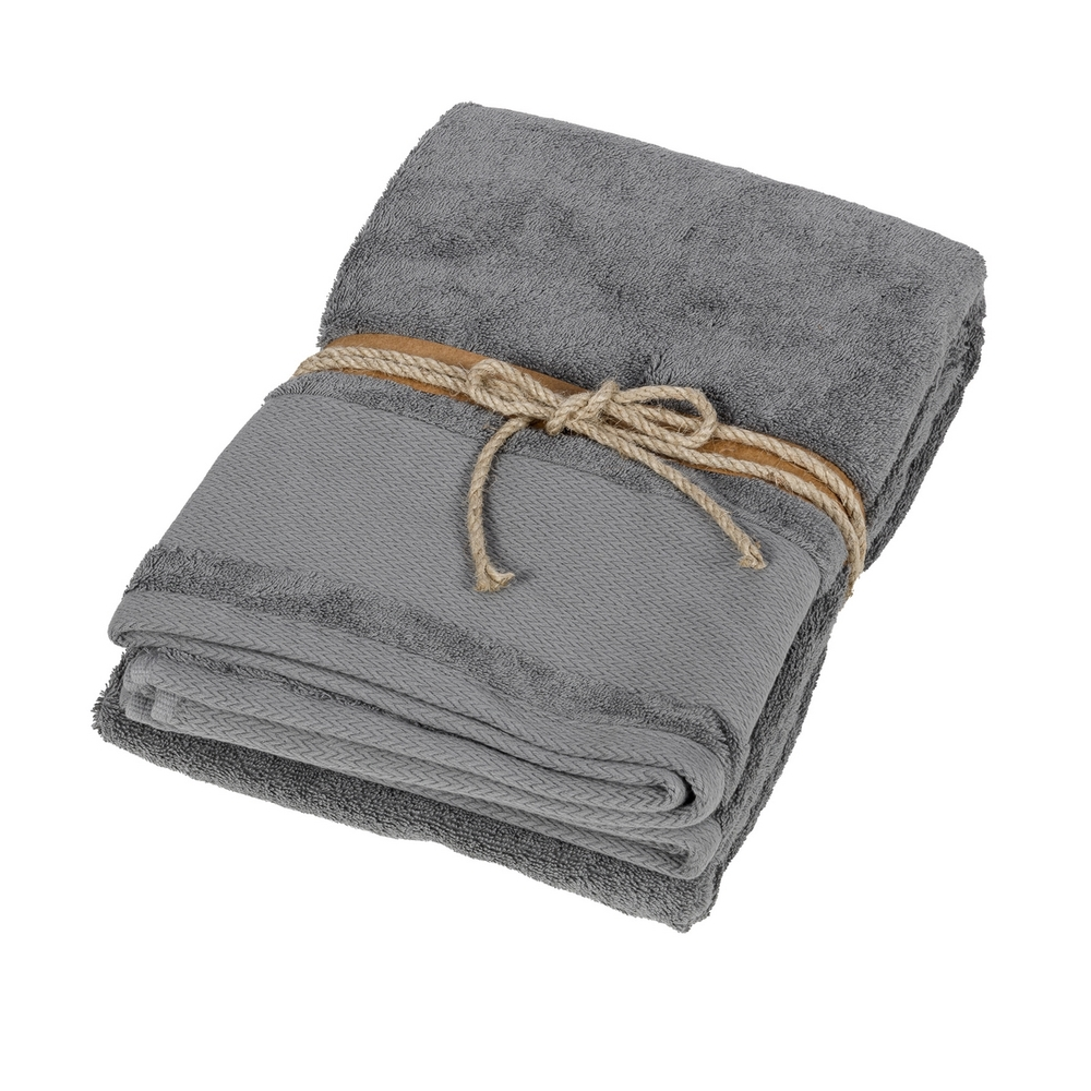 LOSANGHE Bath sheet - 100x150 - grey
