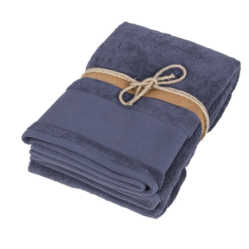 LOSANGHE Bath sheet - 100x150 - blue