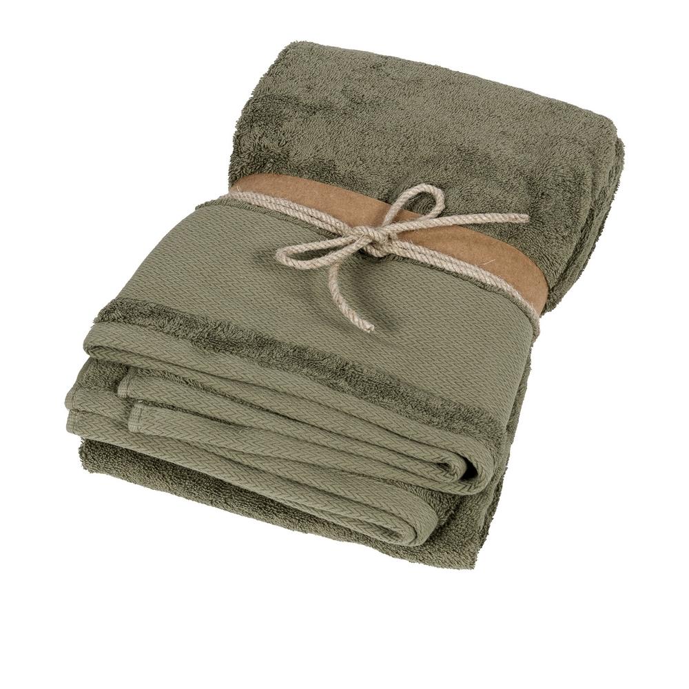 LOSANGHE Bath sheet - 100x150 - green