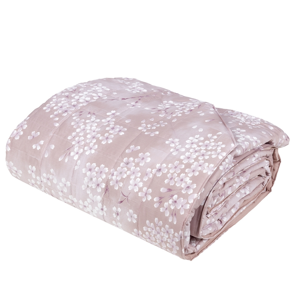 KIMONO Quilted bedspread - IT QUEEN - pink