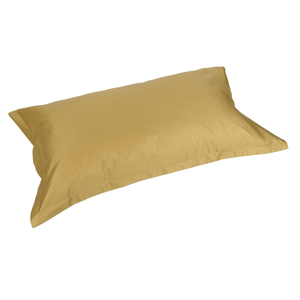 TRECENTO Pair of pillowcases - 52x82- yellow