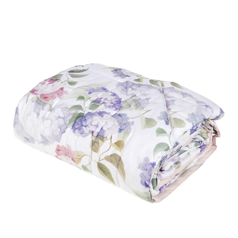 ORTENSIE Quilted bedspread - IT QUEEN - pink