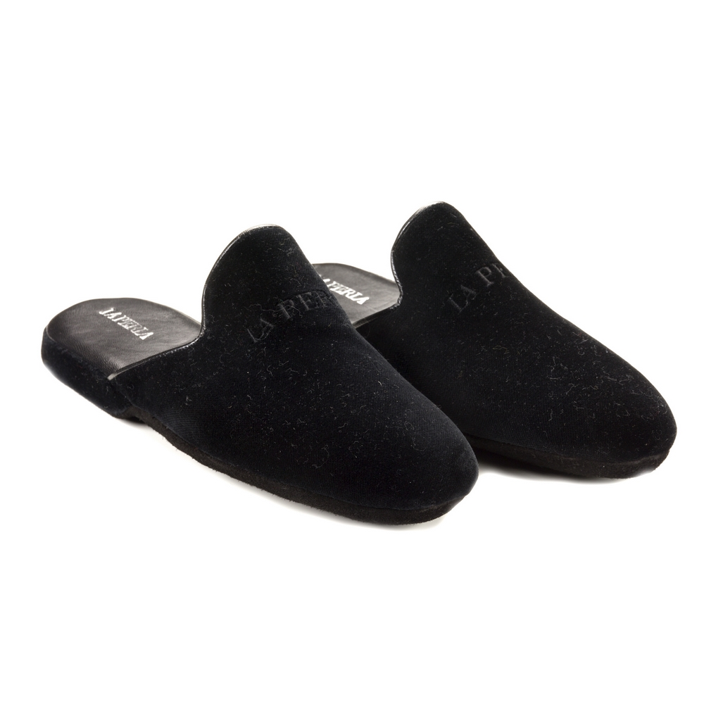 LORD OPEN SLIPPER  N. 45-BLACK