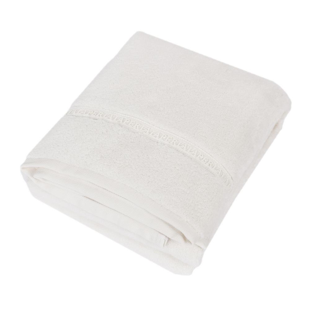 TOWEL MACRAME' 100x150 cm - WHITE SILK