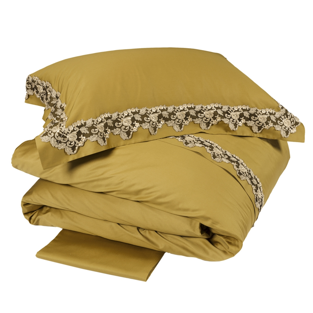 Duvet cover set ICON-Queen-GOLD