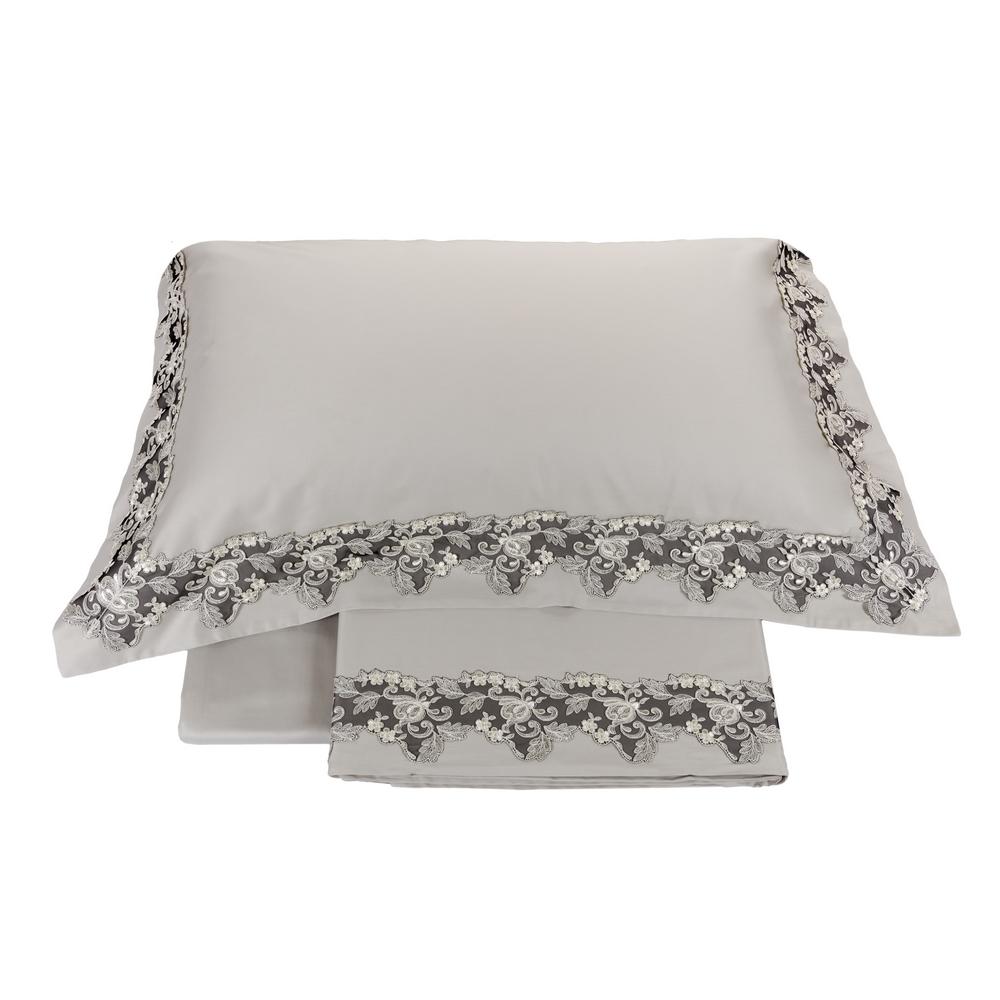 Bedding set ICON-Queen-GREY