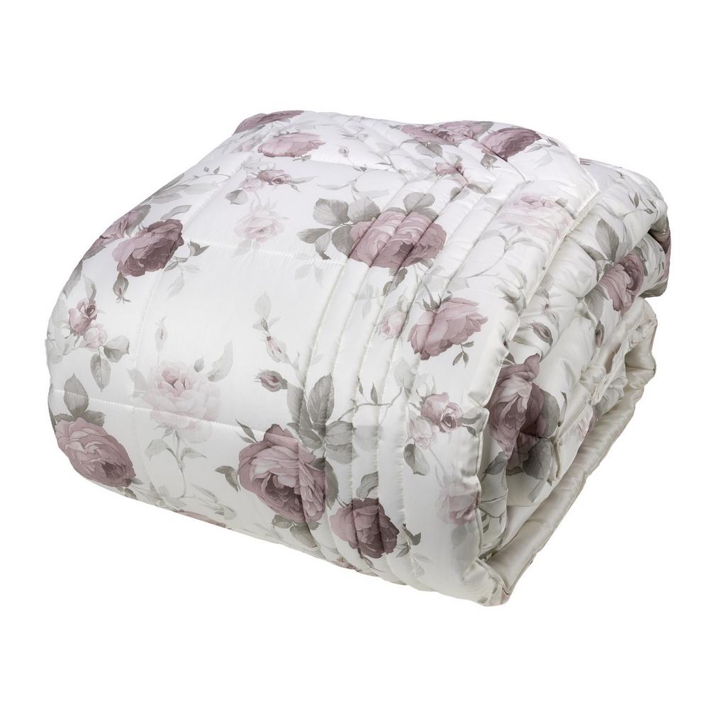 Comforter CLAIRE 270X270 -white silk