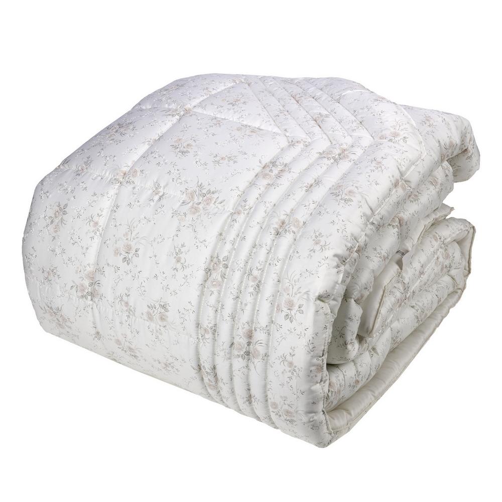 Comforter LIMOGES 270X270 white silk