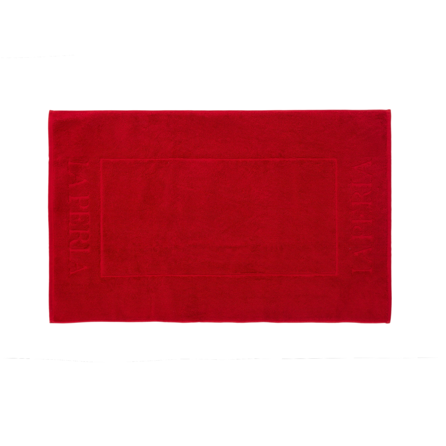Bathmat NERVURES-60x100-RED