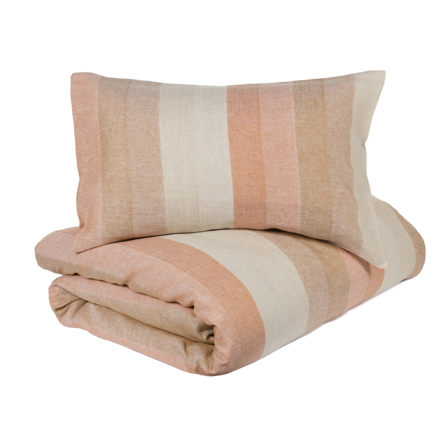 Duvet cover set VERNISSAGE - double - red pink