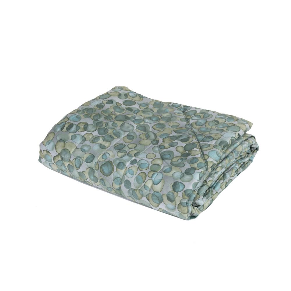 VALCHIUSA quilted bedspread -220x270-water