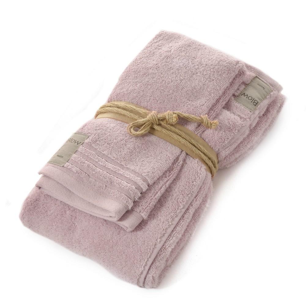 COCCOLA Guest and hand towel set (1+1) QUARZO