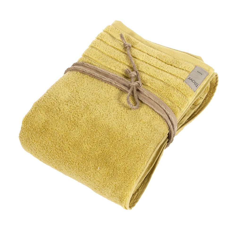 COCCOLA Bath sheet 100x150 cm- 100x150-mustard