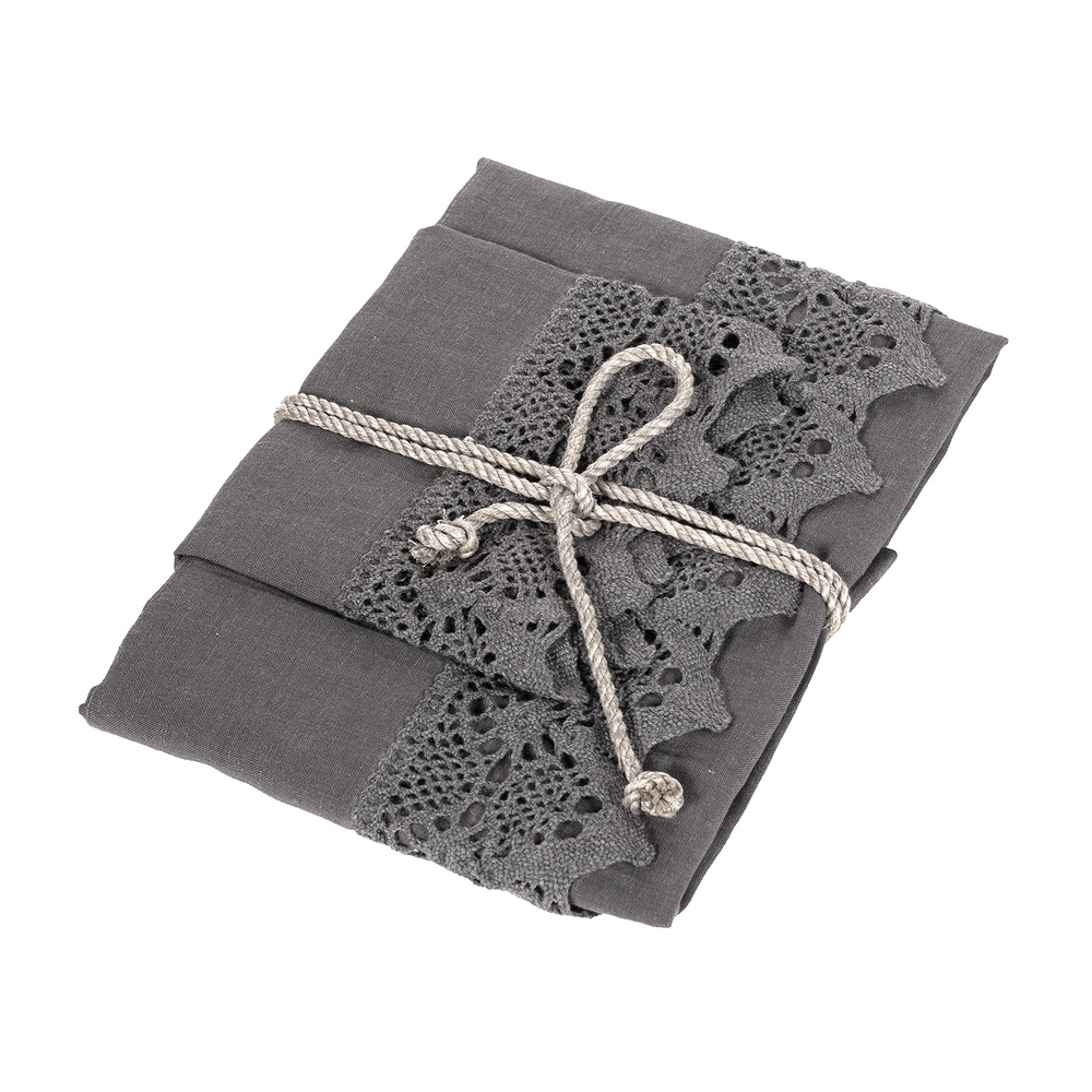 NUVOLA Guest and hand towel set (1+1)-unica-grey