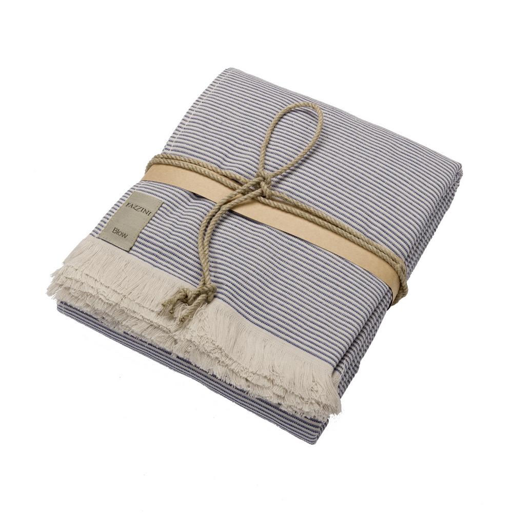 Spa towel STRIPES - 100X180 - BLUE