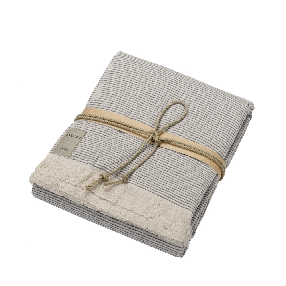 Spa towel STRIPES - 100X180 - GRAY