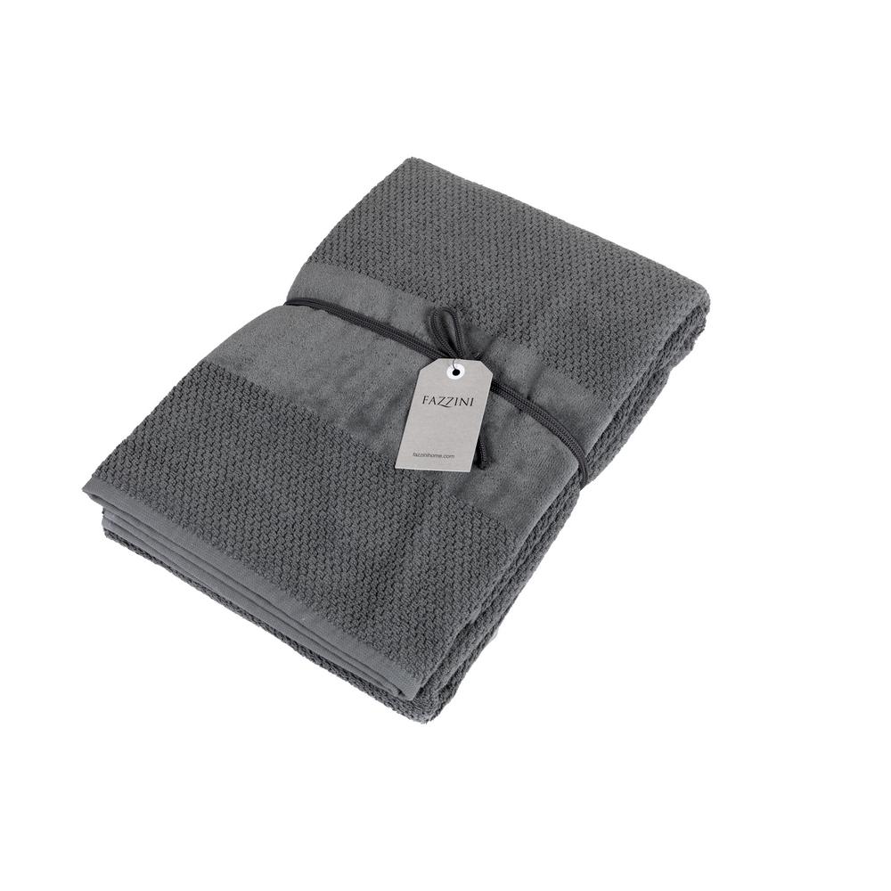 VELOUR Bathsheet 100x150 cm - grey