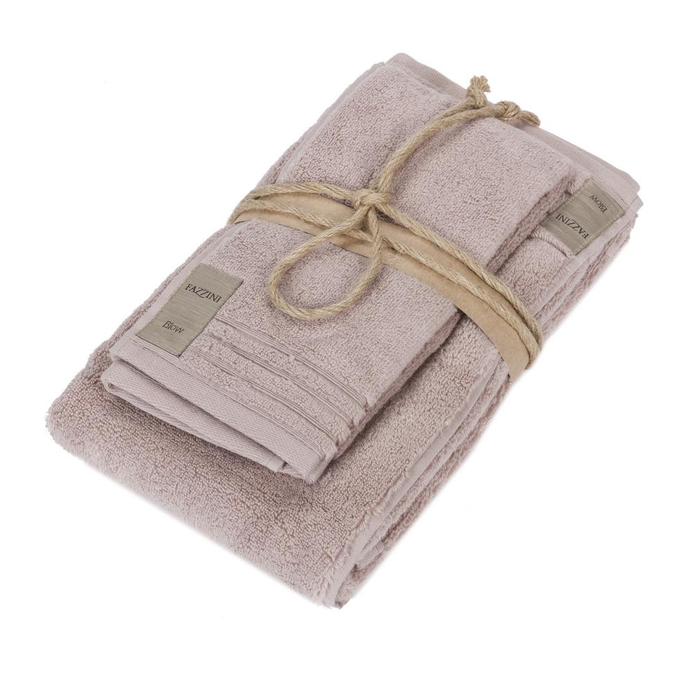 Asciugamano Ospite (coppia 1+1) – COCCOLA – Rosa Boho
