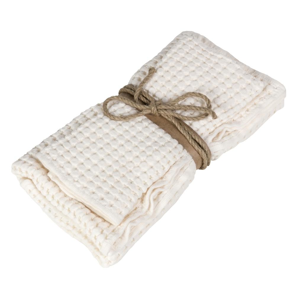 NETTARE set of 2 towel-38x50+50x110-BEIGE