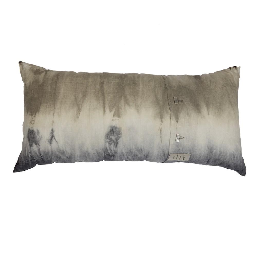 cushion TIE AND DYE 38x70 - beige