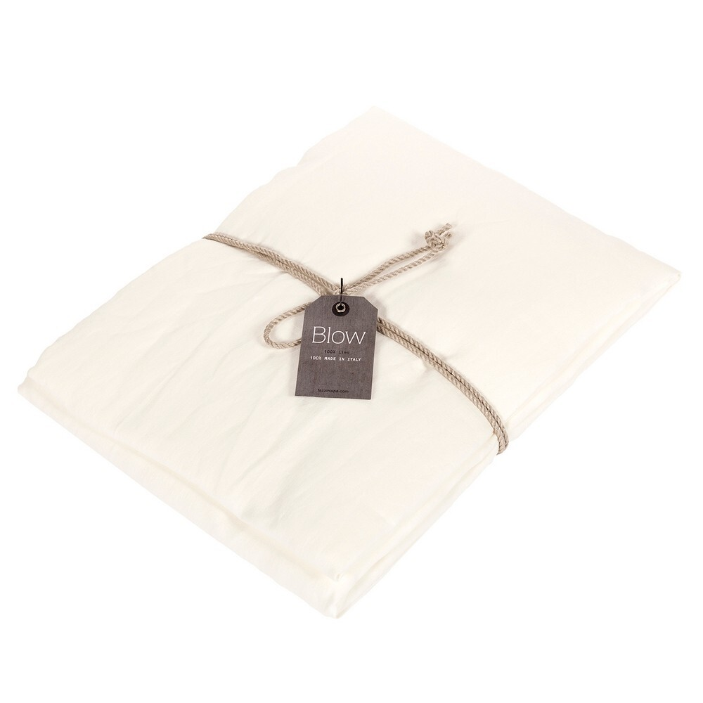 SOFFIO Fitted sheet-2 PIAZZE-natural