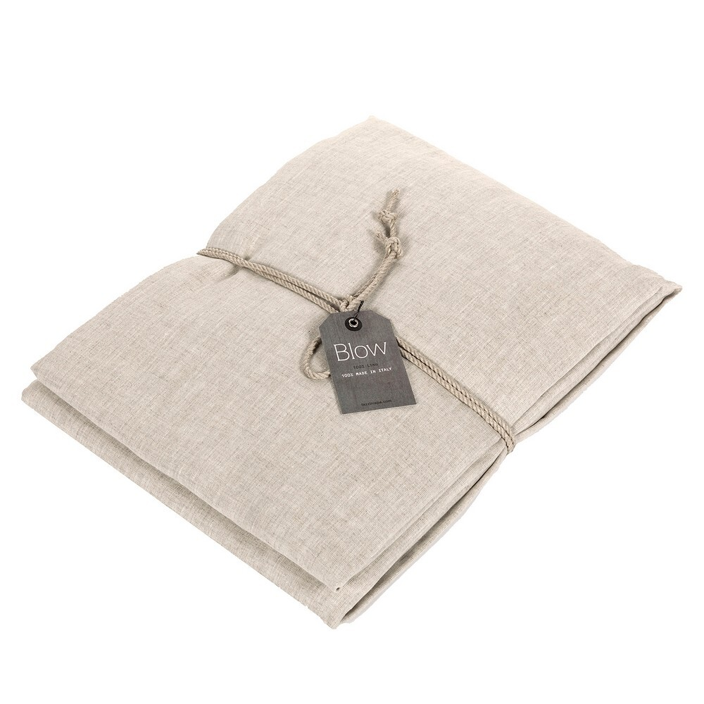 SOFFIO Fitted sheet-2 PIAZZE-naturla brown