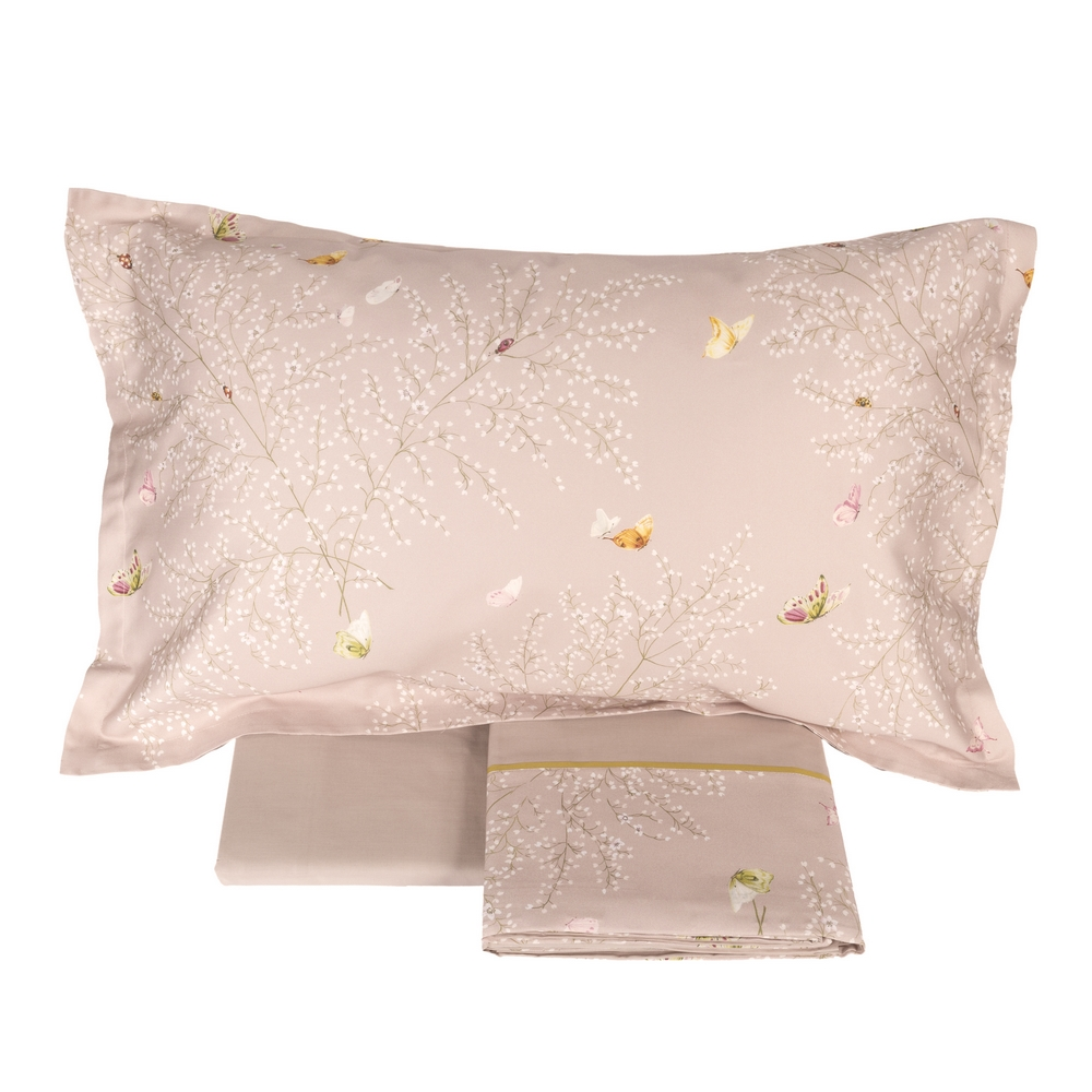 Bedding set COLIBRI'-IT SINGLE-pink