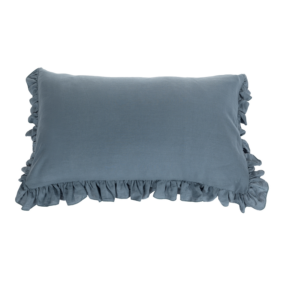 SOFFIO set of 2 pillowcases-52x82-blue