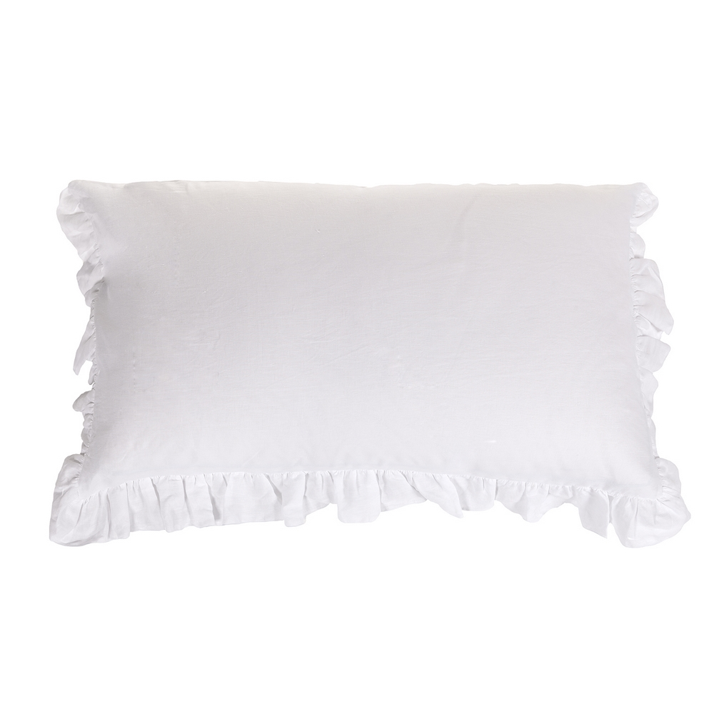 SOFFIO set of 2 pillowcases-52x82-white