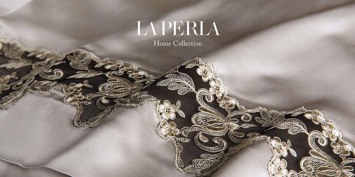 Online store la perla home collection fazzini home for Lenzuola fazzini on line